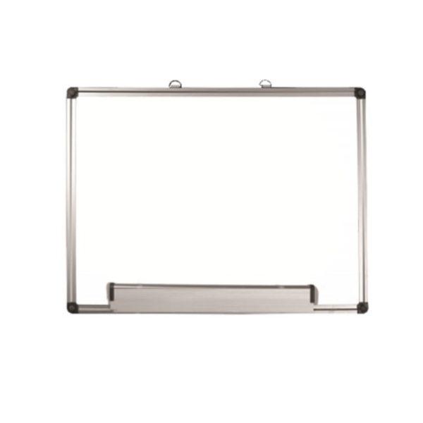 white noard and aluminium frame